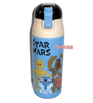 《東京家族》日本正版 迪士尼 星際大戰STAR WARS 不鏽鋼保冷保溫杯保溫瓶360ml
