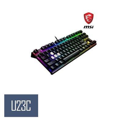 10/01-11/25 微星秋季購優惠 MSI Vigor GK70 Cherry MX RGB 機械電競鍵盤 紅軸