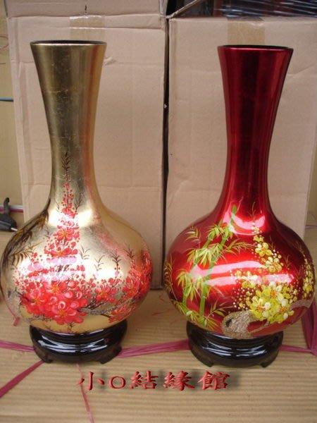 小o結緣館仿古傢俱.....漆器花瓶'''''擺飾瓶(漆器) (單件價)