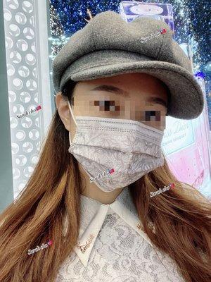台灣製 彩虹/迷彩/星空/白蕾絲口罩(厚款PE袋裝, 無盒)