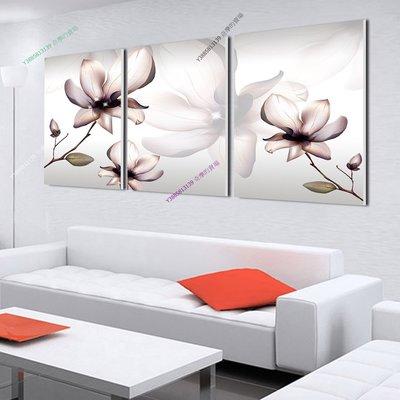 【40*60cm】【厚1.2cm】淺粉小花-無框畫裝飾畫版畫客廳簡約家居餐廳臥室牆壁【280101_483】(1套價格)
