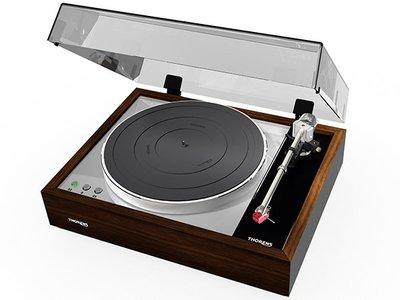 《南港-傑威爾音響》德國老牌 THORENS TD 1600 經典復古造型 黑膠唱盤