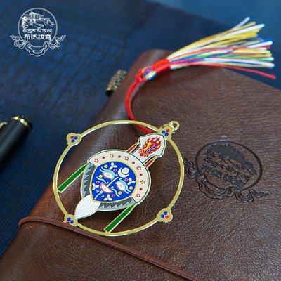 書籤布達拉宮藏戲面具書簽西藏民族個性創意特色禮品文創紀念畢業禮物