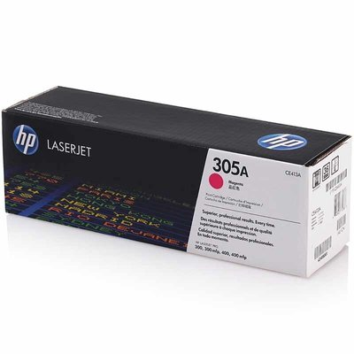 HP CE413A 紅色原廠碳粉匣(305A)/M451nw/M451dn/M375nw/M475dn
