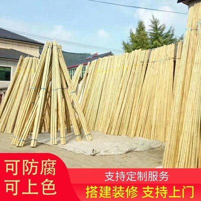豆角架黃瓜架子竹子籬笆隔斷圍欄規格爬藤架攀爬架毛竹桿庭院戶外小豬佩奇