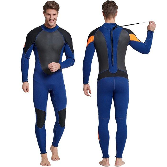 【購物百分百】2018新款3mm男款長袖保暖潛水服 防寒衣 水母衣 防曬衣 潛水裝備