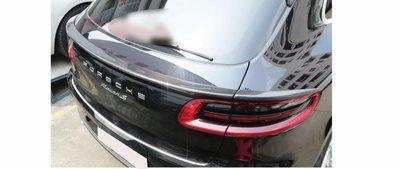 DJD19051551 Porsche 保時捷 macan 碳纖維中尾翼 卡夢 CARBON 依當月報價為準