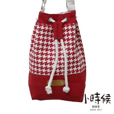 紅千鳥格 泰國品牌 WATER MELON 曼谷包/BKK包/肩側背包/水桶包/束口包 MATER WELON