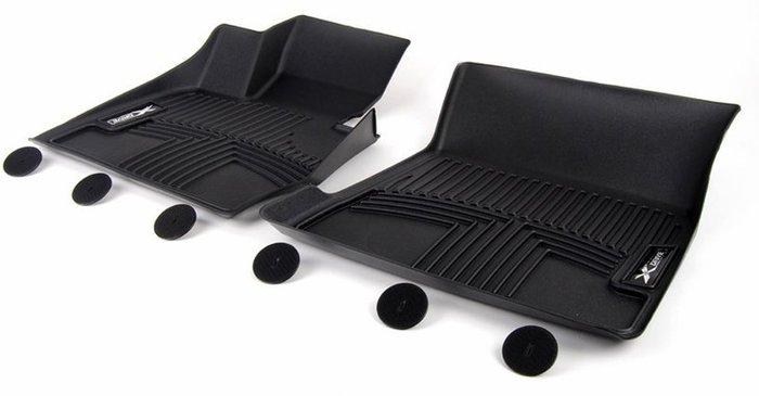 【樂駒】BMW F25 X3 F26 X4 全天候 天然 橡膠 腳踏墊 包覆式 車用