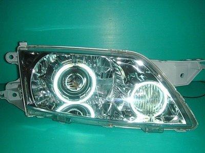 》傑暘國際車身部品《 全新超殺版MAZDA PREMACY晶鑽遠近HI/LOW 進口魚眼大燈
