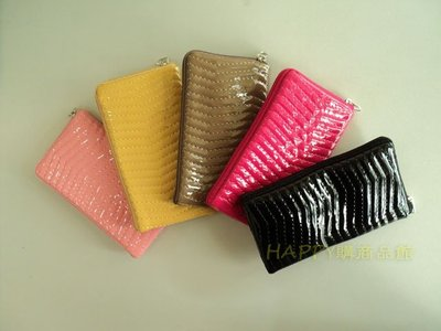 ♫波浪紋♫L式拉鍊包/手機袋/手機套/保護袋/收納包/3C數位包/行動電源