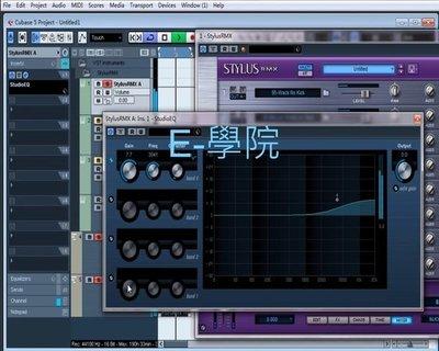 【其它-020】電腦音樂 Cubase 5 / Logic Pro9 / 效果器/軟體樂器 / 混音 教學影片/ 35 講 /  320 元!
