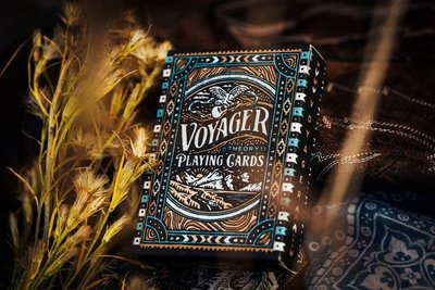 【天天魔法】【S1084】正宗原廠~T11航海家~Voyager Playing Card by Theory 11