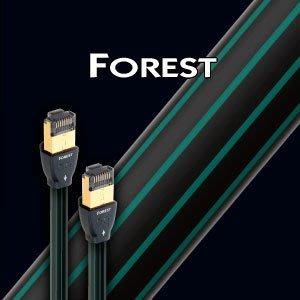 【音逸音響】高速網路傳輸線》美國 audioquest RJ/E Forest (1.5米)