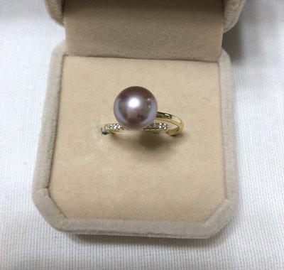 GoodStyle 母親節送媽媽優雅氣質 純天然珍珠戒指 優質選擇~特