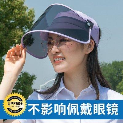 可可  偏光防紫外線遮陽帽女防曬帽騎車...