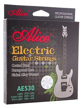 免運 ALICE 電吉他弦 010型 吉他英雄專用 快速換弦 年度最佳防鏽 動態響應大 SUSTAIN強 Fender脆
