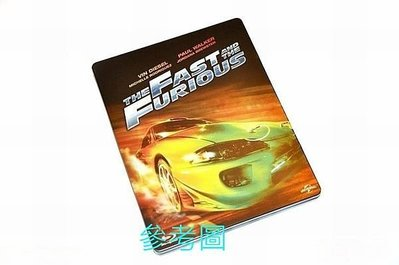【BD藍光】玩命關頭 1:環球百年紀念鐵盒版The Fast And The Furious(中文字幕)