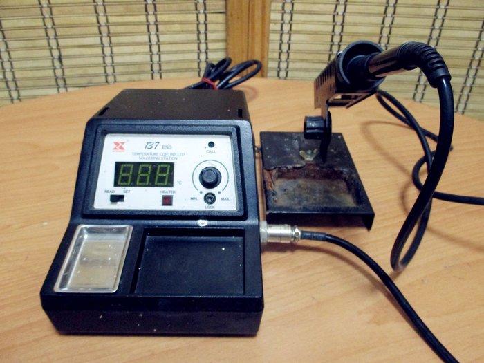 康榮科技二手儀器領導廠商XyTronic 137ESD temperature controlled soldering