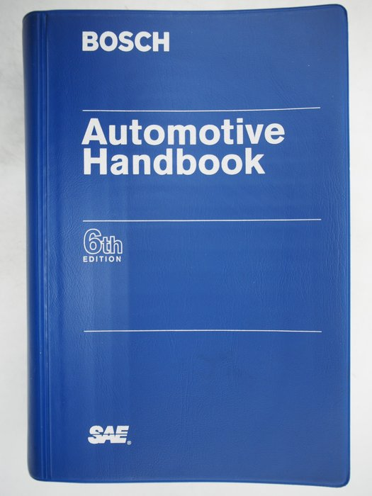 【月界二手書店】Bosch Automotive Handbook-軟精裝(6/e)_博世汽車手冊 〖科學〗CLD