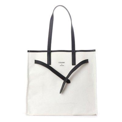 少量好貨 日本女生超愛 正版 日本Samantha COLORS 帆布大容量托特包 肩背包 媽媽包 購物袋(CBJ20)