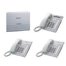 電話總機專業網...國際牌TES主機 +5台12鍵來電顯示話機7730....新品完善的服務
