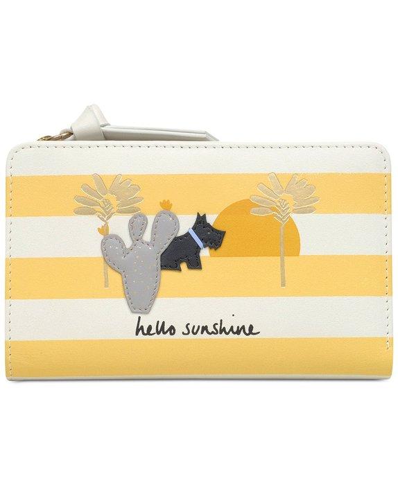 Coco小舖 Radley London Hello Sunshine Wallet 英國品牌 黃色中夾