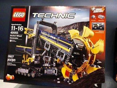 LEGO 42055斗輪挖掘機(己砌及加裝接收器/摩打)