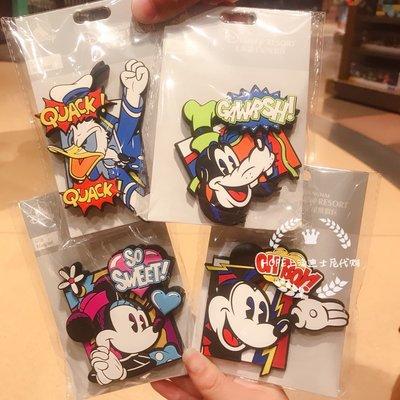 特價 上海迪士尼代購米奇米妮高飛唐老鴨字母冰箱貼磁貼 禮物紀念