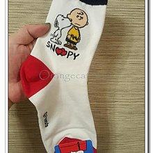 ☆橘子貓的918号店☆韓國 史奴比 糊塗塌客 查理布朗 彩色線條 運動襪 棉襪  男襪 女襪 韓國襪 休閒襪