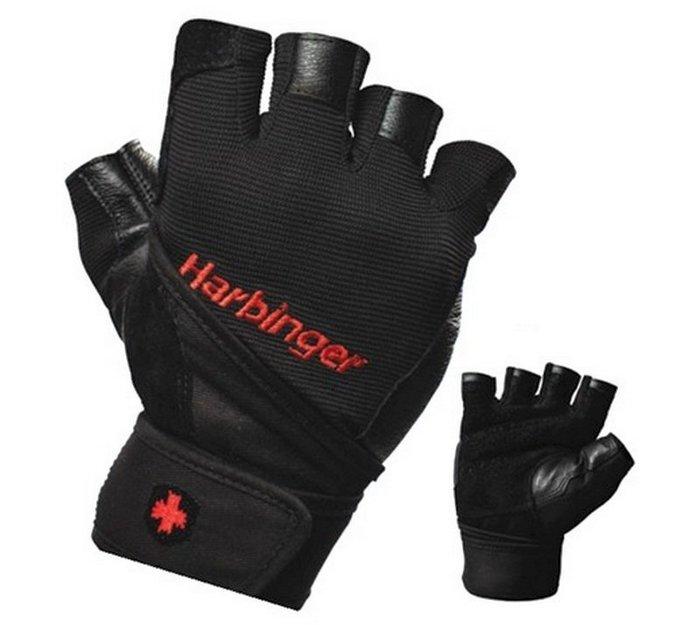 [線上體育]L12714114020 Harbinger Pro  男  M 重訓/健身護腕手套