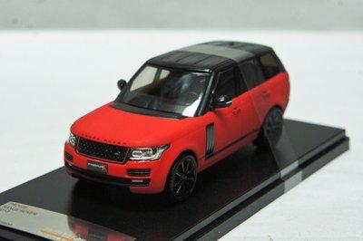 【現貨特價】1:43 Premium X Range Rover 2013 平光紅 ※限量※