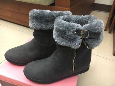 De Sire 暗灰色雪靴