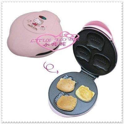 小公主日本精品 Hello Kitty 蛋糕機 鬆餅 鬆餅機 餅乾DIY造型雞蛋糕 頭型模具23010505