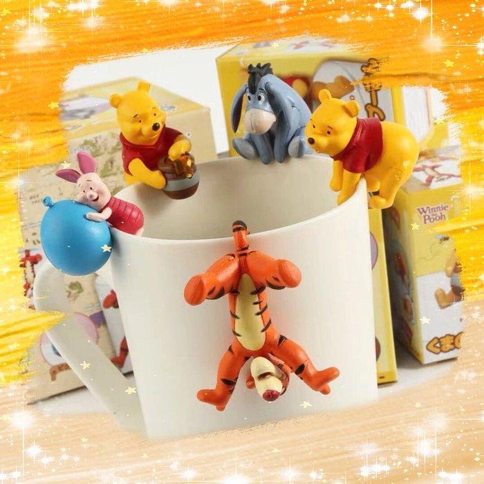 小豬 屹耳 Disney 迪士尼 小熊維尼 杯緣子 Winnie 維尼熊 跳跳虎 維尼 好伙伴 好朋友 公仔 擺件 玩具 盒玩 克里斯多福.羅賓 驢子 瑞比