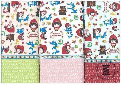 ✿小布物曲✿童話系列-2大野狼與小紅帽(厚) 窄幅110CM 日本進口100%純棉布料 共3色 單價/尺