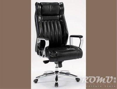 【DH】商品編號411-246-3商品名稱尊爵黑皮扶手辦公椅。豪華舒適造型。主要地區免運費