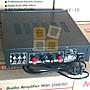 【音響倉庫】MESSI立體聲2聲道擴大機 AV-10BT藍芽/電台/USB/SD遙控
