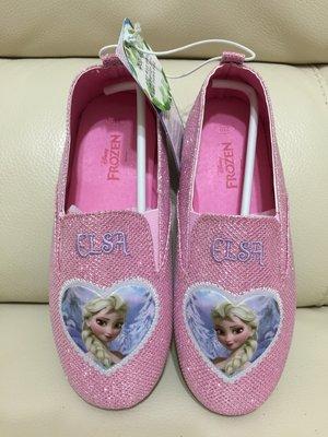 全新韓國正品~ 冰雪奇緣 粉色 愛紗 公主鞋 休閒鞋 現貨21cm (另開賣場下標)