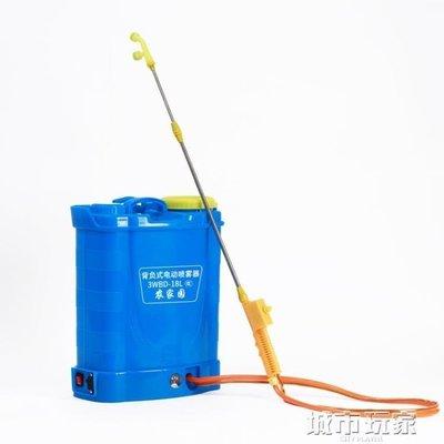 『格倫雅』鋰電池智慧輕便背負式電動噴霧器農用農藥高壓充電果樹打藥消毒機^17950