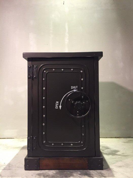 【曙muse】北歐原木保險櫃造型桌