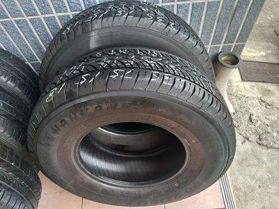235 75 R 15 南港 FT-4 M+S 18年製造 九成新 落地胎 二手 中古 得利卡 輪 胎 一輪1500元