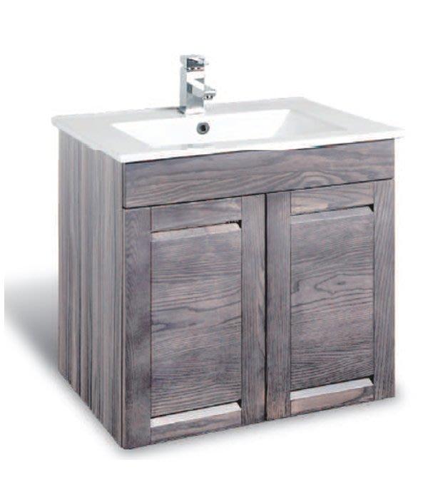 CORINS 雙風采洗灰 CD-R-60 防水發泡板檯面盆浴櫃