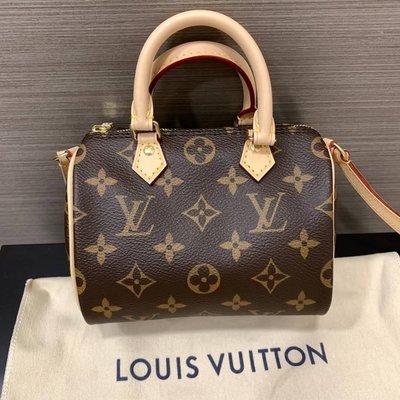 J-Shop Luxury 精品店 LV nano speedy 斜背包
