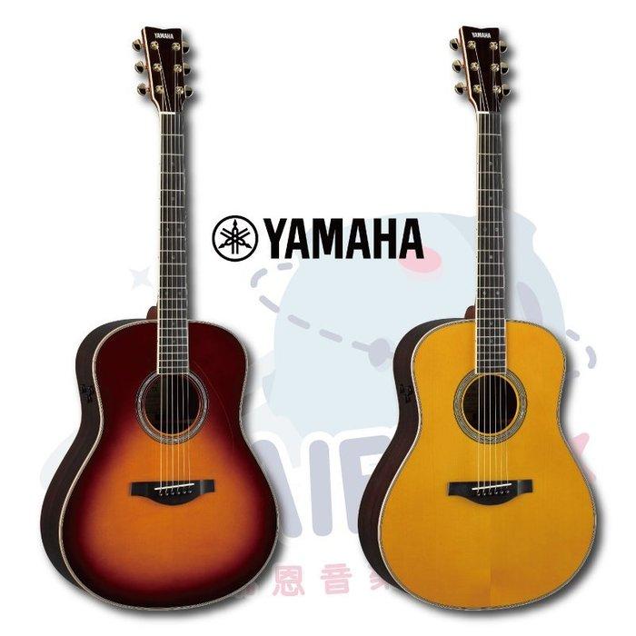 『凱恩音樂教室』免運公司貨 Yamaha LL-TA VT 高階 全單板 木吉他 內建效果器 原廠袋 LL TA