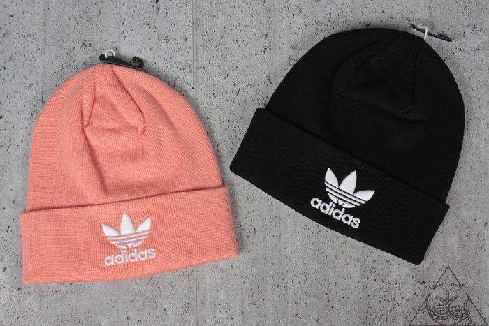 【HYDRA】Adidas Originals Trefoil Beanie 三葉草 刺繡 毛帽 【BK7634】