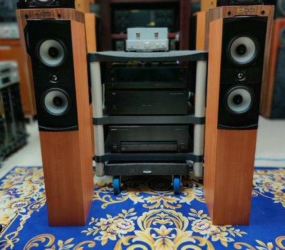 加拿大製 PSB ALPHA T 落地主喇叭 ALPHA 含腳釘、喇叭線 收藏級美聲喇叭