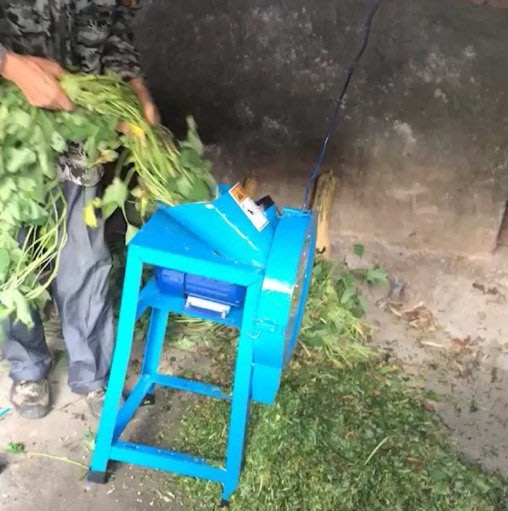 電動乾濕兩用切廢棄農作紅龍果枝葉莖葉薯藤玉米桿飼料切碎機枝條:枝葉:資源回收當有機 肥料(可代購進口各種農機:各種機器)