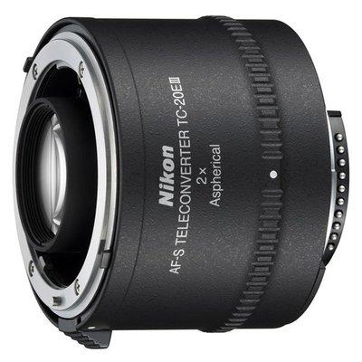 【中野數位】Nikon AF-S TC-20E3/TC 20E III加倍鏡 2X/ 平輸