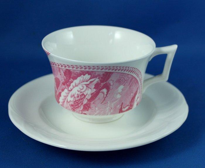[美]英國百年名瓷WEDGWOOD 骨瓷茶杯組. .GARLAND + PROFILE系列,全新品